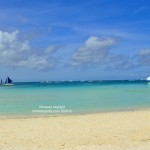 Boracay, a paradise with white cold sand