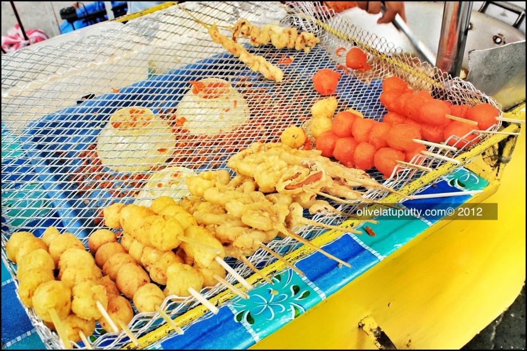 jajanan street food ala Manila