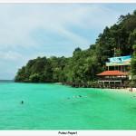 Payar Island, I snorkeled with Sharks!