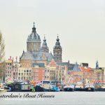 menginap di rumah kapal, Amsterdam