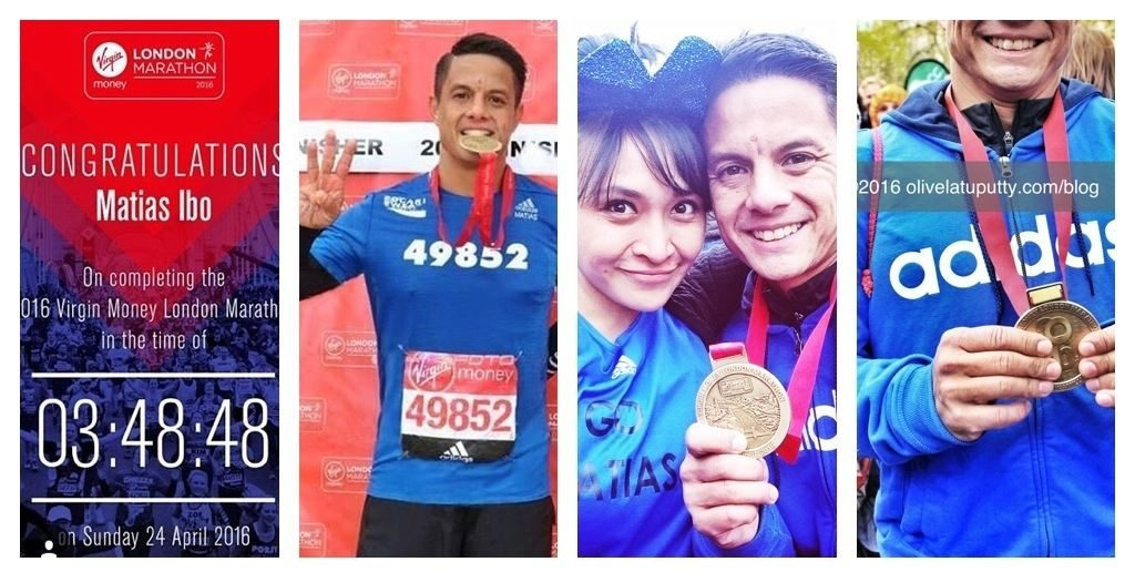 catatan dari london marathon