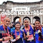 Catatan Dari London Marathon 2016