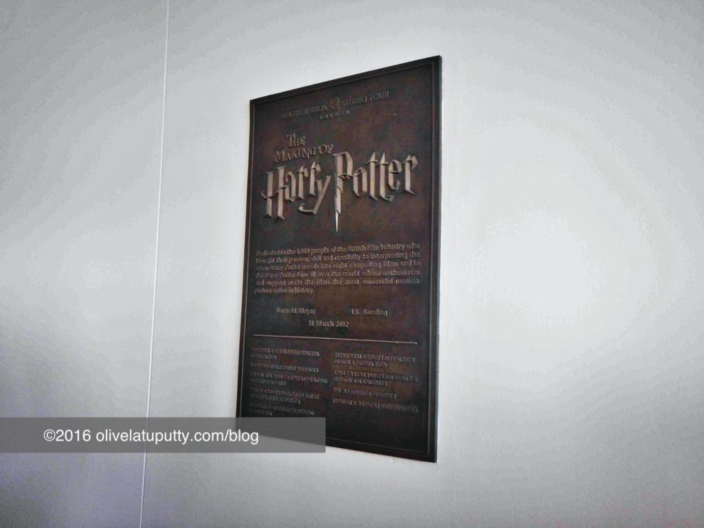 Main ke Studio Pembuatan Harry Potter