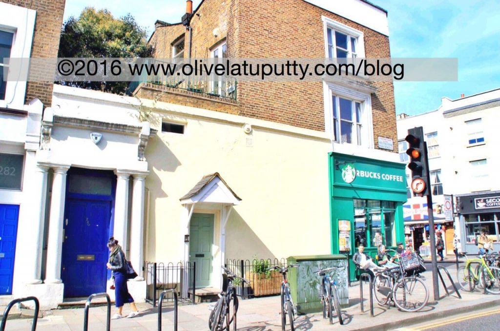 lokasi pembuatan film Notting Hill London
